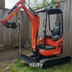 Digger Hedge Cutter, Hydraulic Finger Bar, Large 1.85m, Heavy Duty, Made In
