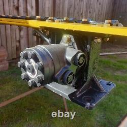 Digger hedge trimmer, Cutter, hydraulic Heavy Duty Finger Bar, large 1.85m
