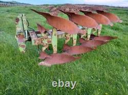 Dowdeswell DP7D 4f reversible plough, ransomes, kverneland, lemken, rabe, kuhn