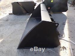 Extra Heavy Duty Skidsteer Bobcat Bucket 1.6m £445 + VAT