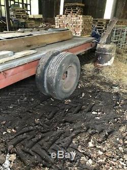 Farm Heavy Duty Low Loader Trailer