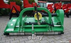 Flail Mower Heavy Duty Dual Rotor 1.5m