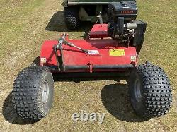 Flail Mower. Powerful heavy duty petrol driven towed flail mower by JDS