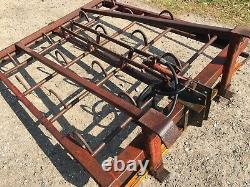 Flat 8 Grab Hay Straw Bales Heavy Duty New Brackets Can Be Fitted If Required