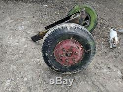 Fordson Major -heavy Duty Front Axle With Wheels Ideal Tractor Puller