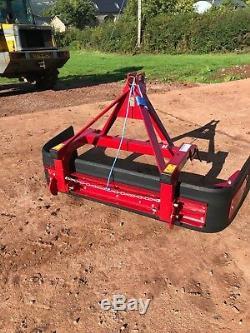 Fosters Yard scraper, variable width, heavy duty slurry scraper