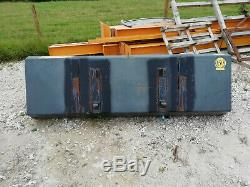 Front bucket for Trima loader 7 foot very heavy duty hardly used hardly used