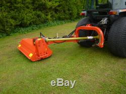 Fts heavy duty verge flail mower pto linkage hedge cutter ditches dykes verges