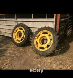 Full set Heavy Duty Row Crop Wheels. Standen centres