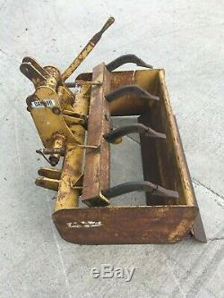 GANNON 4FT SOIL GRADER/ RIPPER BOX (Very Heavy Duty Machine) Tractor Mounted