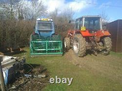 Greentek Double Quick Tractor Mounted Slitter, aerator