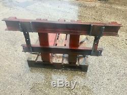 HD Pallet Forks VAT INC Fit Yr Own Brackets Telehandler Tractor Loader Can Send