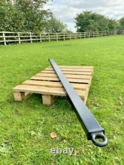 HEAVY DUTY 9.6TON HGV Truck Towing Bar 2 METRE LONG Tow Pole Tractor Bus Army