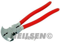 HEAVY DUTY Fencing Fence Pliers 10.5 With Hammer Head, Wire Cutter & Hook