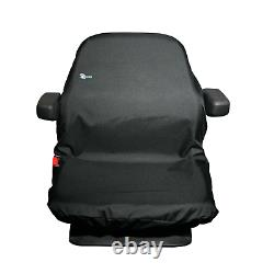 HEAVY DUTY WATERPROOF Tractor Machinery Plant Seat Cover Town & Country T2BLK
