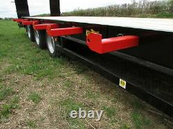 HERBST Lowloader 26ft Tri-Axle Heavy Duty Plant Trailer, 26ft, 33 tonne gross, 2