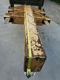 Heavy Duty 10 Ton Forklift Crane Lifting Jib Hook Telehandler Boat yard £650+vat