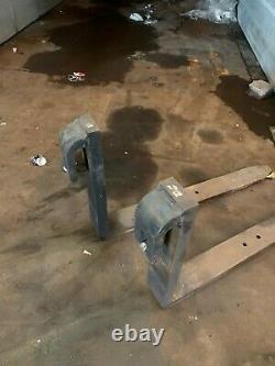 Heavy Duty Pallet Forks Tines Heavy Lift Telehandler Merlo