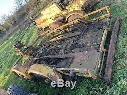 Heavy Duty Plant Trailer 3500kg