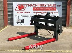 Heavy Duty Round Bale Grab Squeezer Handler Quicke Tractor Loader 8 £795 + VAT