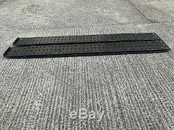 Heavy Duty Steel Loading Ramps Recovery Tractors / Lorry / Mini Digger Trailer