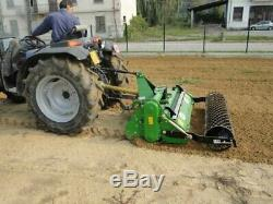 Heavy Duty Stone Burier (165cm) for Compact Tractors