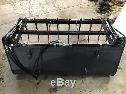 Heavy Duty Tractor Loader Bucket Grab Grapple Log from £1045 + VAT