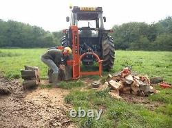 Heavy Duty Tractor Mounted 22 Ton Log Splitter / Wood Processing / Forestry