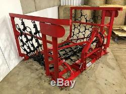 Heavy Duty Tractor Mounted Folding Chain Grass Field Harrows from £1095 + VAT