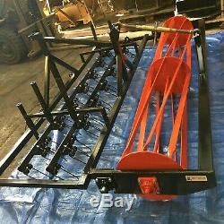 Heavy Duty Tractor Mounted Menage Arena Grader / Leveler