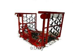 Heavy Duty Tractor Mounted Pasture Grass Hydraulic Chain Harrows from £1295 +VAT