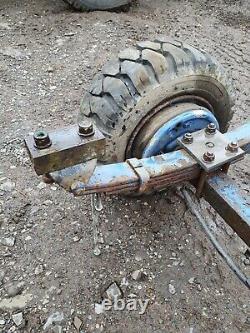 Heavy Duty Trailer Axle Compact