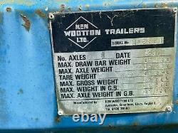 Heavy Duty Trailer Ken Wootton Ltd