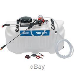 Heavy duty ATV SPRAYER -70psi ATV SPRAYER 98 LITRE Large pump free post \ card
