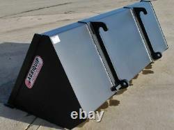 Heavy duty Telehandler rehandling bucket all sizes and bracket options