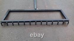 Heavy duty drive rake, garden, Road rake. Car parks
