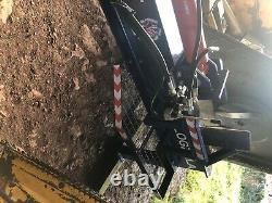 Heavy duty hydraulic log splitter, 3 point linkage
