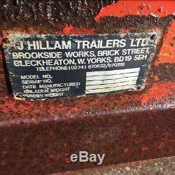 Hillam Muck Manure Dung Spreader NO VAT Rotating Barrel Spreads From Either Side