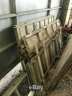 Houghtons livestock lorry transport body for sheep or cattle
