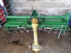 House Martin Heavy Duty Tractor Mounted Rotavator Tiller 1.5 Meter/5 Foot
