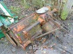 Howard Selectatilth Rotavator 40 Tractor Driven Pto Heavy Duty