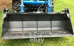 Hydraulic Bucket 4 In 1 / Cutter / Grab Euro 8 Brackets £1550 + Vat