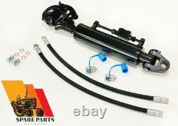 Hydraulic top link cat. 3-3 stroke 210 mm with Ball Joint & Hook, Heavy Duty