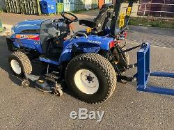 ISEKI 32hp HEAVY DUTY COMPACT TRACTOR, MID DECK, YEAR 62, ROAD REGISTERED