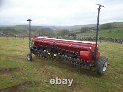 Juko 4OS 4m tined seed drill, claydon, weaving, mzuri, nordesten, fiona, amazone