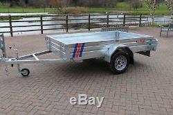 Kirby Trailers 750kg Heavy Duty Plant Galvanised Box Utility Car Trailer