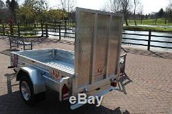 Kirby Trailers 750kg RAMPED Heavy Duty Plant Galvanised Box Utility Car Trailer