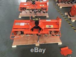 Kubota Orange Compact Tractor Heavy Duty Rotavator 1.15M 1.25M 4FT