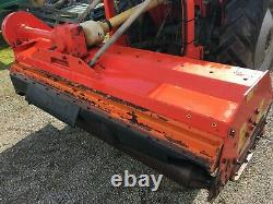 Kuhn VKM 210 Tractor Mounted Heavy Duty Flail Mower PTO With Side Shift NO VAT