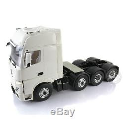 LESU 1/14 Benz 3363 RC 88 Tractor Truck Metal Heavy-duty Chassis 4 Axles Model